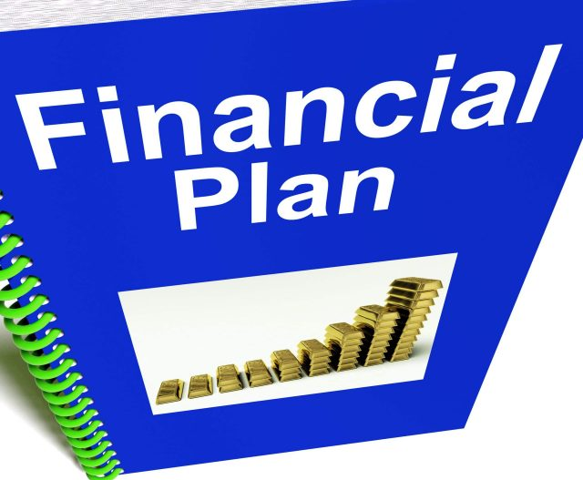 A financial plan report shows revenue or earning strategy.